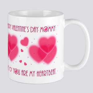 Heartbeat/mommy Mugs