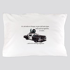 Bluesmobile Pillow Case