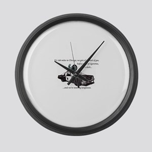 Bluesmobile Large Wall Clock