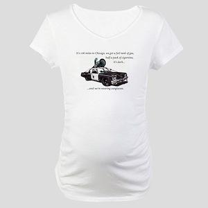 Bluesmobile Maternity T-Shirt