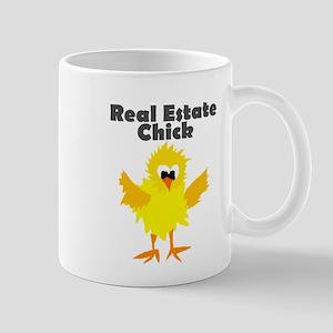 Real Estate Chick Art Mugs