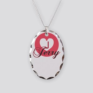 jerry Necklace Oval Charm