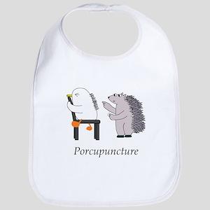 Porcupine Doctor Baby Bib