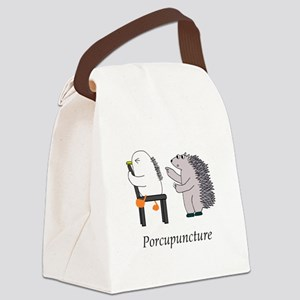 Porcupine Doctor Canvas Lunch Bag