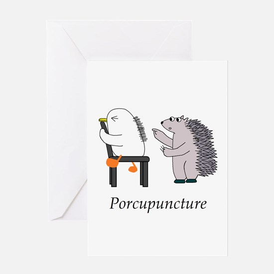 Acupuncture Greeting Cards