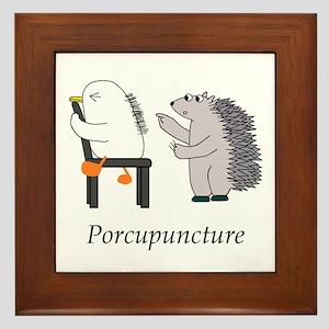 Acupuncture Framed Tile