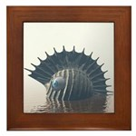 Sea Monsters Framed Tile