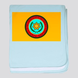 Flag of the Eastern Band of the Chero baby blanket