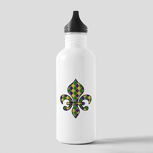 Fleur de Lis Water Bottle