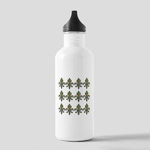 Fleur de Lis M Water Bottle