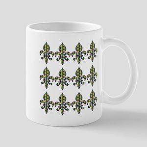 Fleur De Lis M Mugs