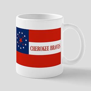 Cherokee Braves Flag Mugs