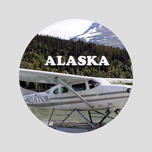 Alaska: Float plane, Trail Lake 3 Button