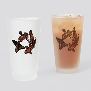 Two Fish Drinking Glass