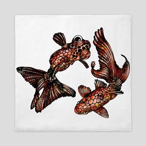Two Fish Queen Duvet