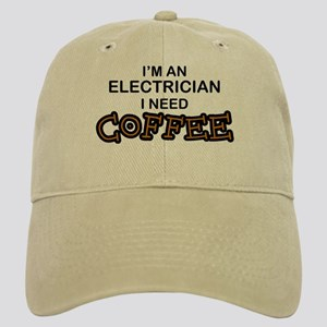 Electrician Need Coffee Cap