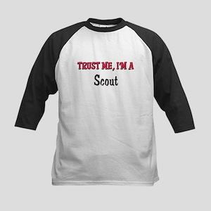 Trust Me I'm a Scout Kids Baseball Jersey