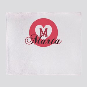 marta Throw Blanket