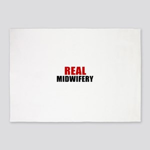 Real Midwifery 5'x7'Area Rug