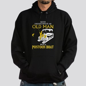 Never Underestimate An Old Man With A P Sweatshirt