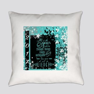 New Years 2017 Everyday Pillow