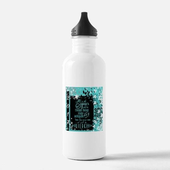 New Years 2017 Water Bottle