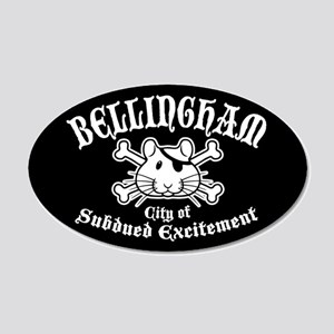 Bellingham Subdued 20x12 Oval Wall Decal
