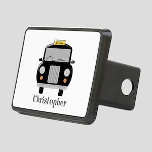 Personalized Black Taxi Cab Design Rectangular Hit
