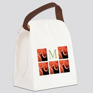 Photo Block and Monogram by LH Canvas Lunch Bag
