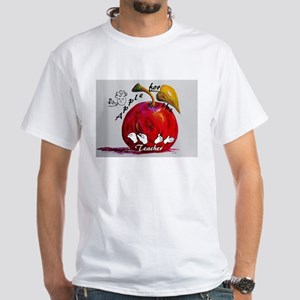 ASL Apple for the Teacher T-Shirt