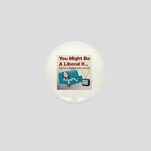 Liberal sofa activists Mini Button