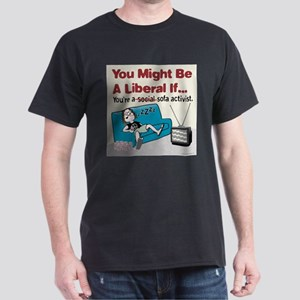 Liberal sofa activists Dark T-Shirt