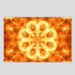 Inferno Mandala Postcards (Package of 8)