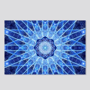 Ice Lotus Mandala Postcards (Package of 8)