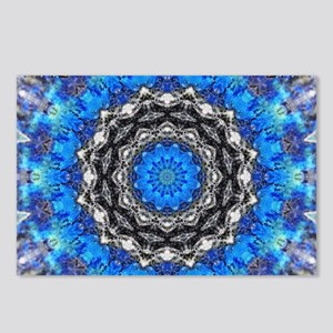 Ice Petals Mandala Postcards (Package of 8)