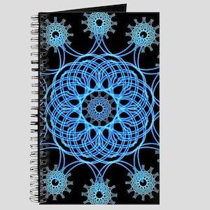 Ice Spiral Mandala Journal