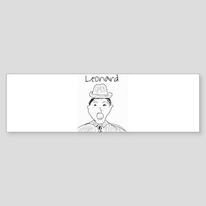 Leonard Bumper Sticker