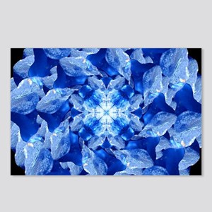 Ice Formation Mandala Postcards (Package of 8)