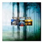 Whiskeytown Square Car Magnet 3