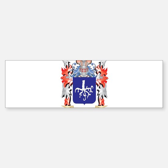 Lindbergh Coat of Arms - Family Cre Bumper Bumper Bumper Sticker