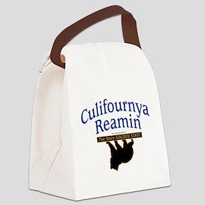 California Golden Bear Canvas Lunch Bag