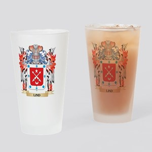 Lind Coat of Arms - Family Crest Drinking Glass