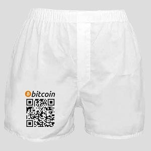 Bitcoin QR Code Boxer Shorts