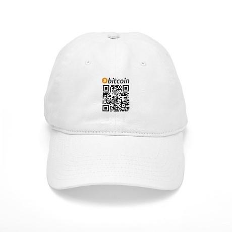 Bitcoin QR Code Baseball Baseball Cap by BitcoinCode 64386cae9550