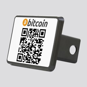 Bitcoin QR Code Hitch Cover