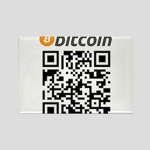 Bitcoin QR Code Magnets