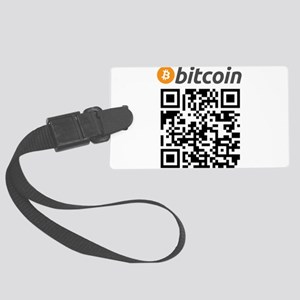 Bitcoin QR Code Luggage Tag