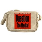 Question Media Messenger Bag