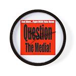 Question Media Wall Clock