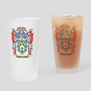 Livingston Coat of Arms - Family Cr Drinking Glass